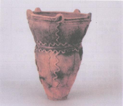 出土した縄文土器