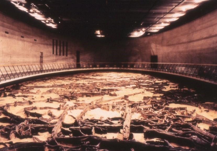 地底の森ミュージアム地下展示室