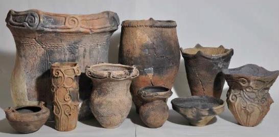 発見された土器