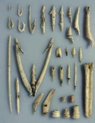 骨角製の漁具