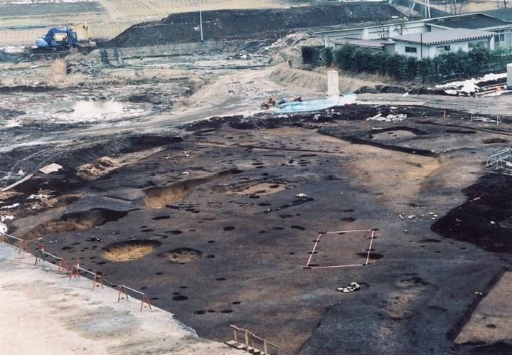 縄文時代後期の住居跡