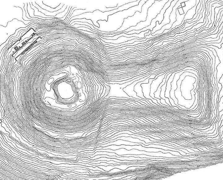 古墳の測量図(そくりょうず)