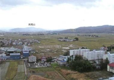 釜蓋遺跡から見た斐太遺跡群