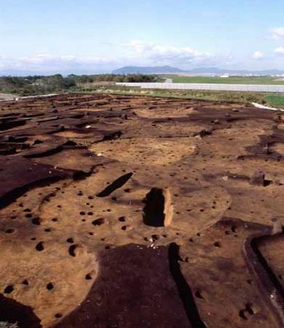 住吉町式土器期の竪穴住居跡群