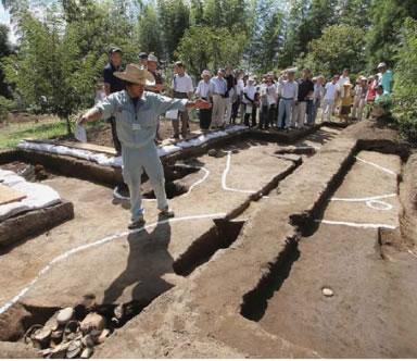 興野々寺山遺跡の発掘調査