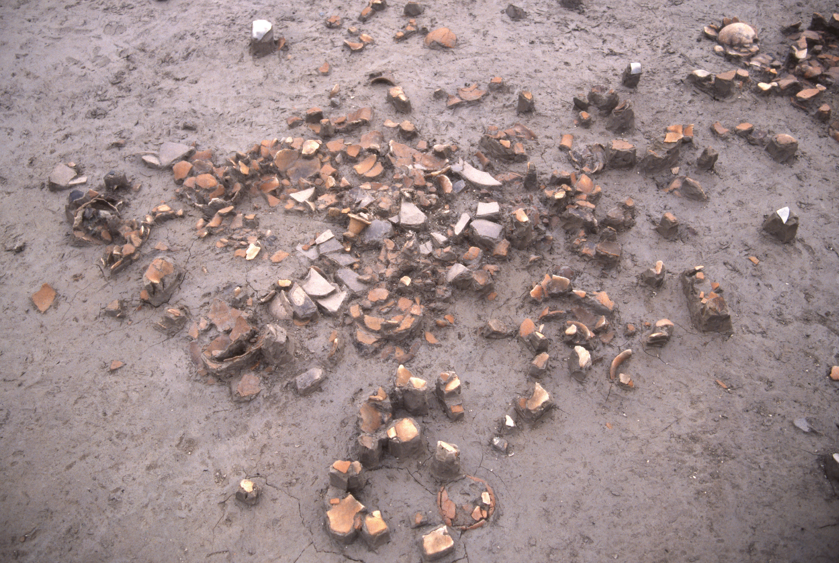 古墳時代のマツリの跡