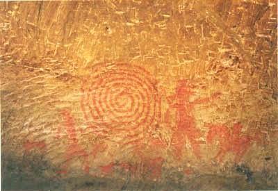 清戸廹76号横穴の壁画