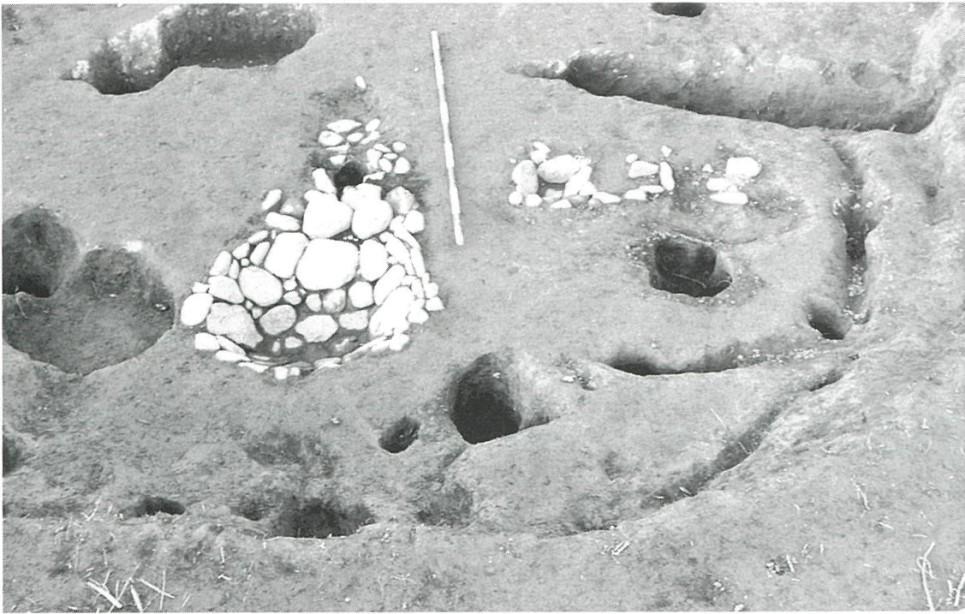 12号住居跡の複式炉