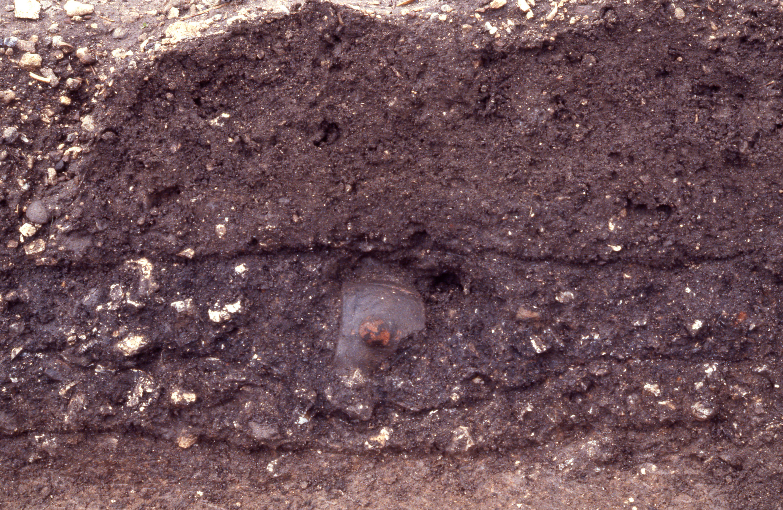 土器の出土状況