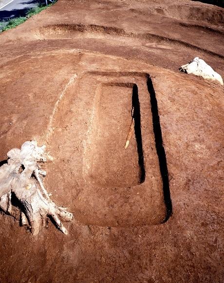 3号墳の埋葬施設