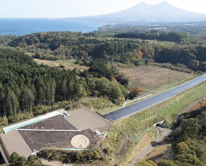 鷲ノ木遺跡と駒ケ岳