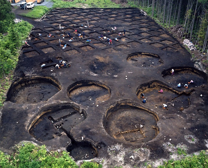 たて穴建物群(縄文時代後期)