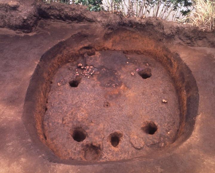 たて穴建物の跡
