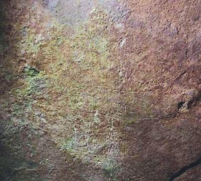 壁には船の絵が描かれている